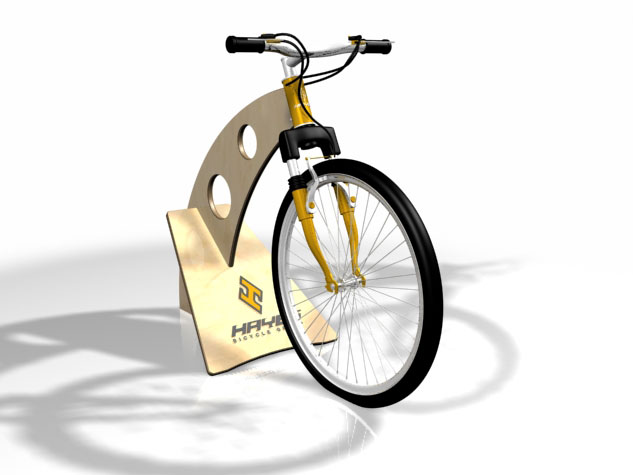 Hayes Bicycle Group Protype Rendering View 1