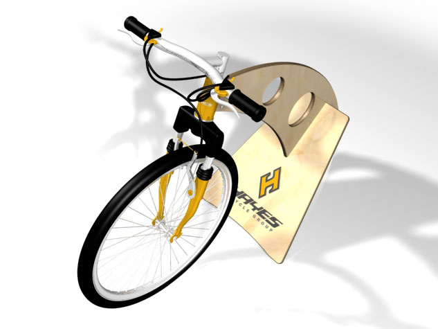 Hayes Bicycle Group Protype Rendering View 2