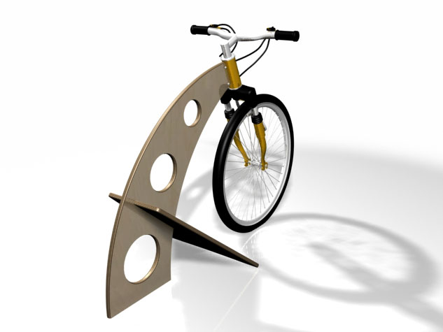 Hayes Bicycle Group Protype Rendering View 3