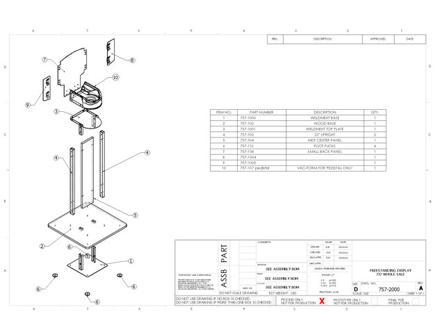 insinkerator-production-drawing-b